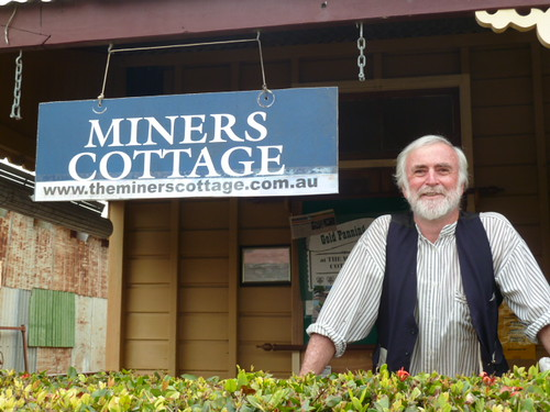 Alan at the Miners Cottage Charters Towers