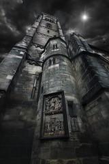 The Tower (Carles Orfila) Tags: france tower night canon dark eos mark ii 5d usm f28 ef1635mmf28liiusm —obramaestra—