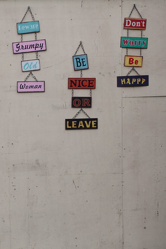 548/1000 - Be Nice Or Leave by Mark Carline