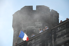 Libert, galit, fraternit (Erin Nowak) Tags: summer france philadelphia pennsylvania july celebration tradition fairmount streetfair bastilleday easternstatepenitentiary stormingofbastille