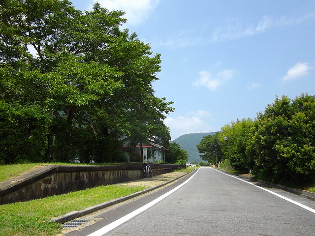片鉄ロマン街道(天瀬駅跡)