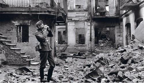Probable autorretrato de Krieger en Minsk