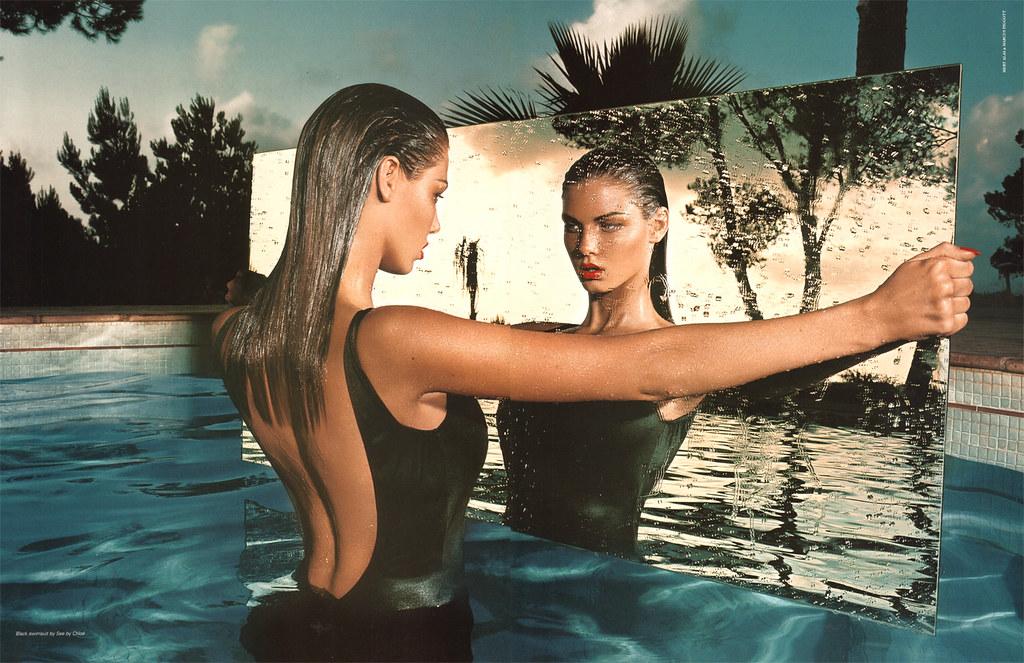 Pop f/w 2002  Angela Lindvall by Mert Alas & Marcus Piggott