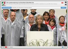 Trauerfeier zur Loveparade-Katastrophe 2010 in Duisburg