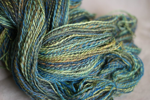 Final Tour de Fleece 2011 Yarn