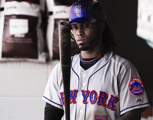 Jose Reyes contemplates his next at bat MOD by Michael G. Baron