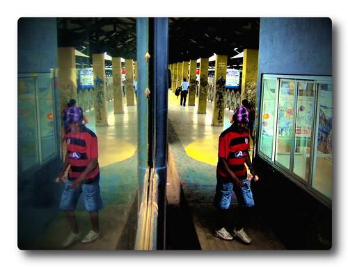 Rio Branco Bus Reflection #2