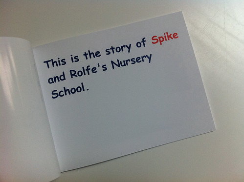 Spike Goes to Nursery School