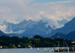 Lucerne Lake (Monica Matison) Tags: lake mountains alps switzerland lucerne lucernelake