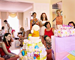 the party (-liyen-) Tags: party women candid indoors babyshower d300 diapercake nikond300 thepinnaclehof tphofweek122
