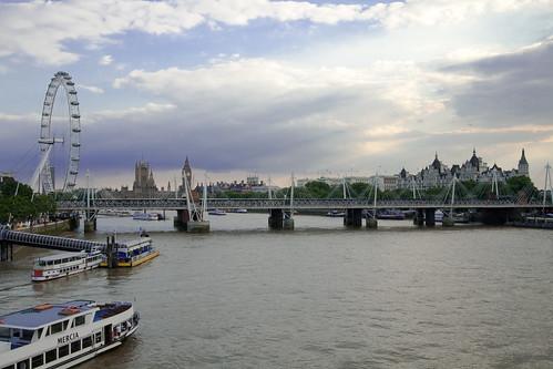 Vistas desde el Puente de Waterloo