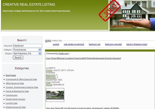 Real Estate Listings by WebsiteToSell.com