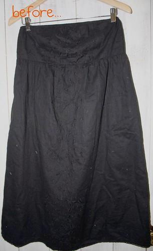 before :a dress