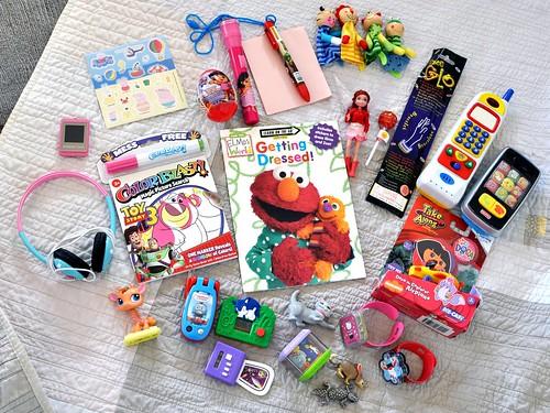 assorted junk