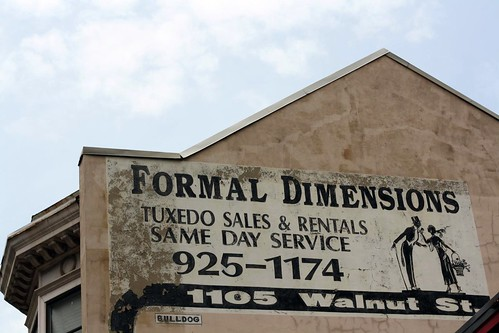 Formal dimentions