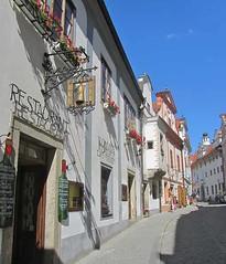 Street - Cesky Krumlov, Czech Republic (waynedunlap) Tags: world street travel republic escape czech plan your now cesky krumlov gurus unhook unhooknow
