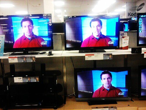 Smarmy Fella On The Televisions At Sears
