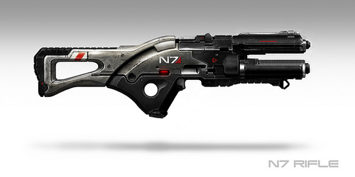 Mass Effect rifle N7
