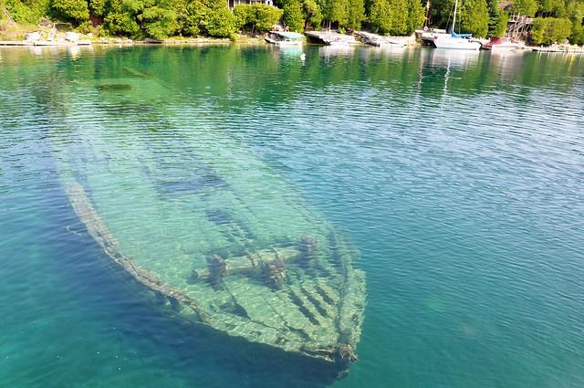 Ship Wrecks, Bruce Peninsula National Park, Canada