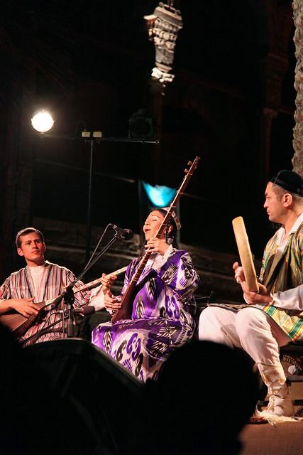エジプト、カイロ、ウズベキスタン音楽コンサート