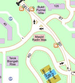Masjid Radin Mas on Streetdirectory.com