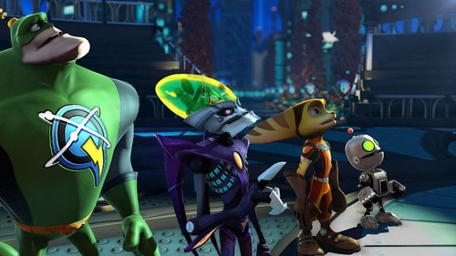 Ratchet & Clank: All 4 One Trailer Shows New Weapons