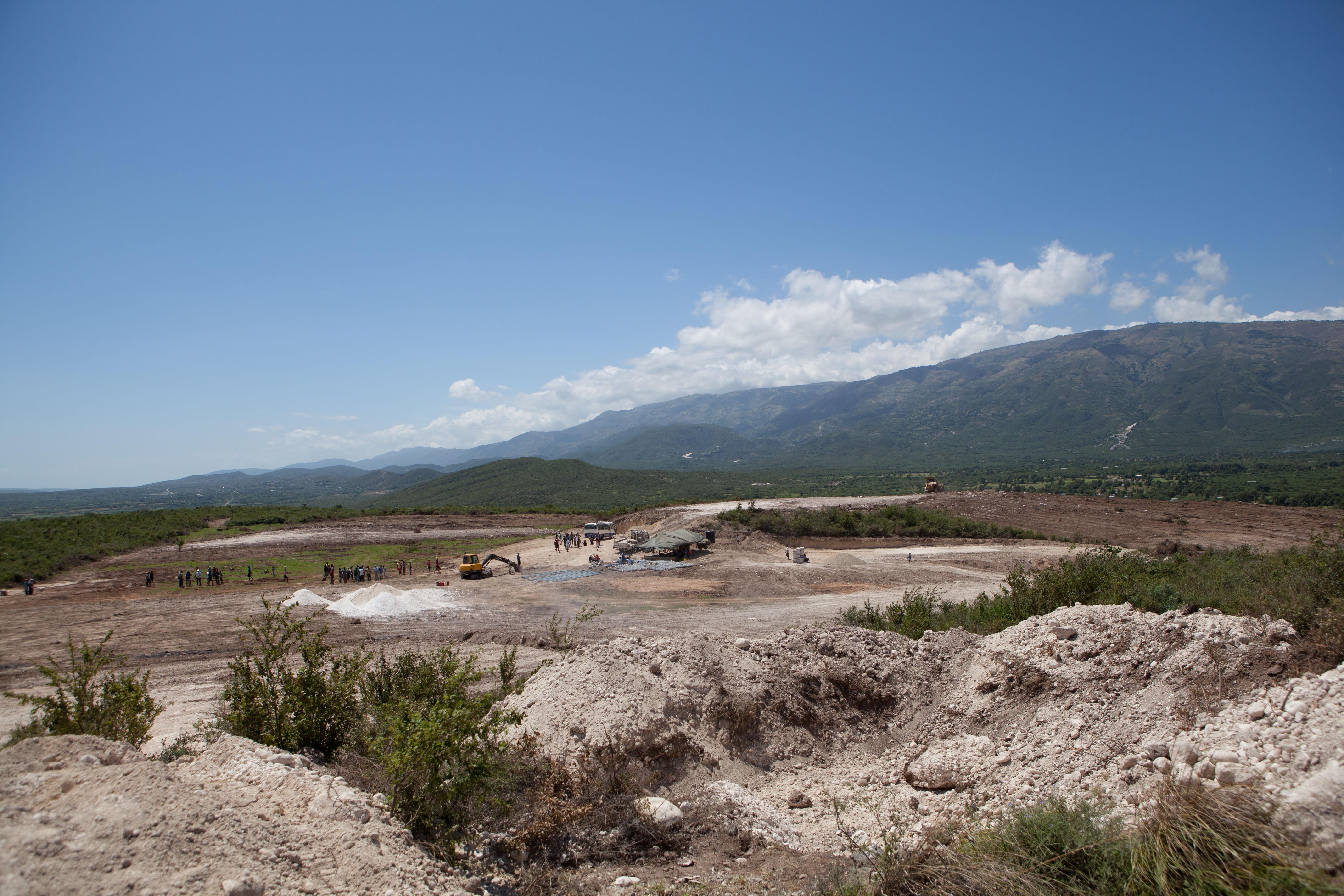 2011 아이티단기선교 건축현장 (5)