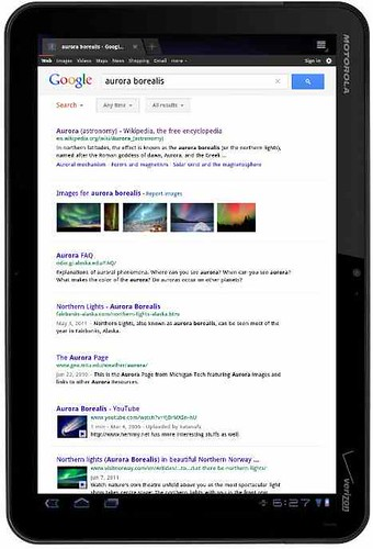 Search tablet