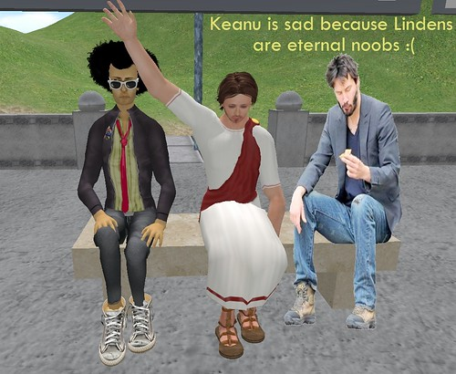 Keanus is sad