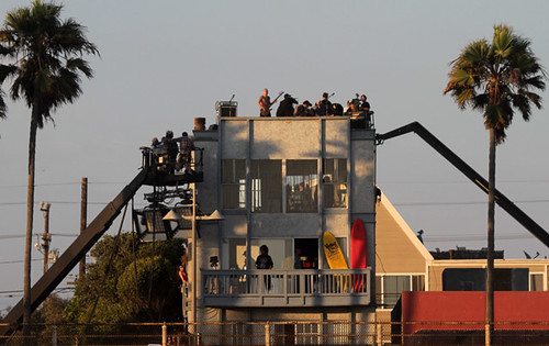 Red Hot Chili Peppers Video Shoot at Venice Beach
