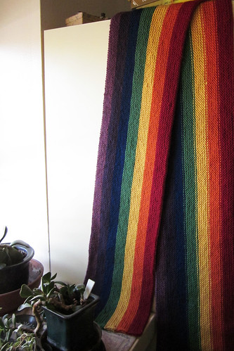 Rainbow Marriage Equality Scarf