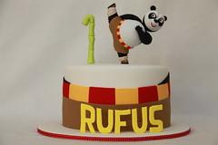Rufus' Kung Fu Panda Cake (MyCakes.com.au) Tags: panda bamboo kungfu po kungfupanda