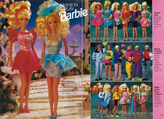 Barbie Journal 1992 (Finnish) (vaniljapulla) Tags: barbie catalogue vintagebarbie skipperfashion barbiefashion barbieaccessories vintageken kenfashion fashionplaybarbie barbiejournal1992 kenaccessories