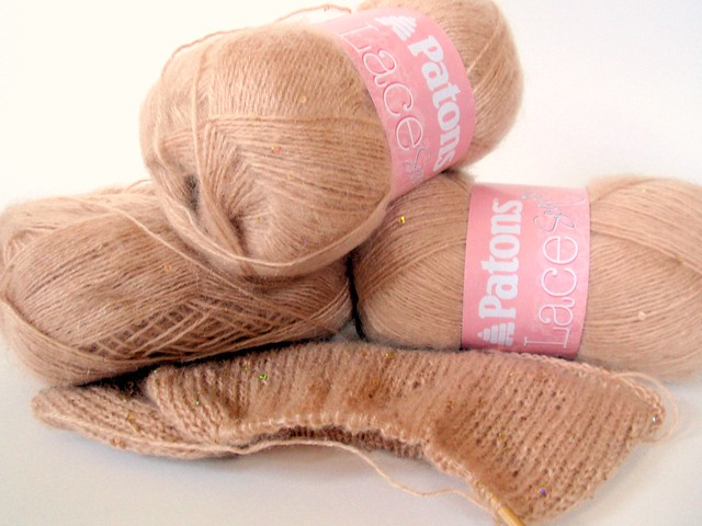 Patons Lace Yarn (for long tube scarf)