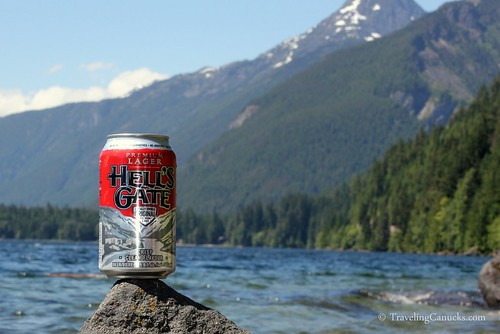 Hells Gate Lager - Chilliwack Lake, BC
