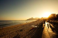 Ipanema - Rio de Janeiro (let's fotografar) Tags: sunset pordosol praia beach riodejaneiro interestingness ipanema