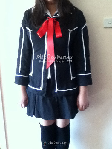 1-Vampire Knight Women Day Department School Uniform Cosplay Costume