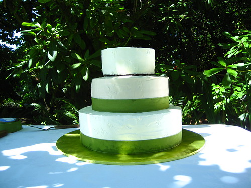 Sam and Andrea's Wedding Cake