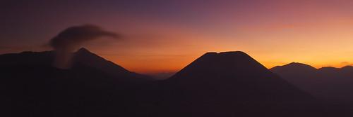 sunset at cemorolawang