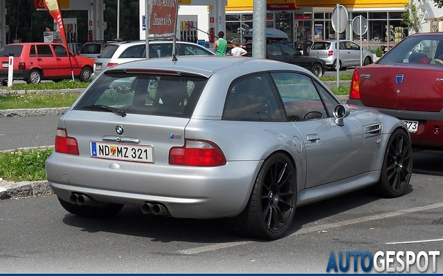 S54B32 M Coupe | Titanium Silver | Imola/Black | Silver with Black Wheels