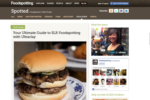 Foodspotting Guide