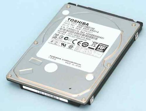 Toshiba HDD MQ01ABD100