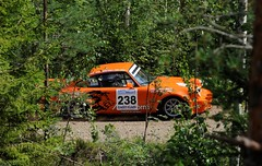 238 Jan van der Marel and Carina van Westen (NL) Porsche Carrera RS (smerikal) Tags: summer car race rally racing historic porsche lahti em rs carrera hassi