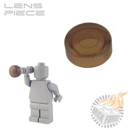 Lens Piece - Trans Brown