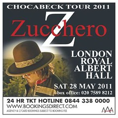 Chocabeck World Tour 2011 London Live bill