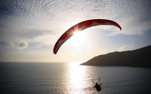 Paragliding in Phuket