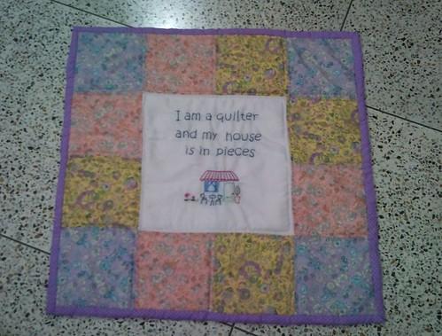 Mini quilt personal swap