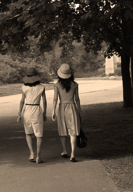 sepia ladies