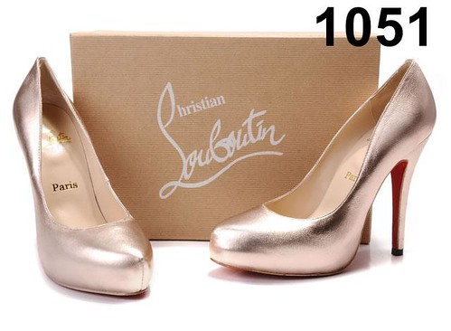 Christian Louboutin-High Hill-Sliver Pink-