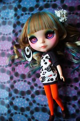 A-Dong's OOAK Custom Blythe doll No.55 *Sunset Glow*